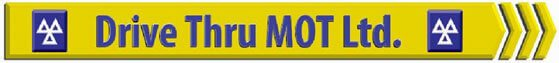 Drive Thru MOT Ltd Logo